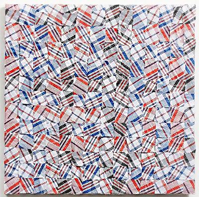 Celeste Wilson, 'Plastic Plaid Plaid Plaid', 2016