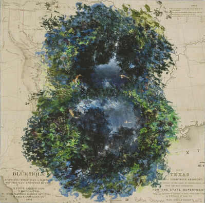 Betsy Damon, 'Blue Hole (part of Femfolio portfolio)', 2007