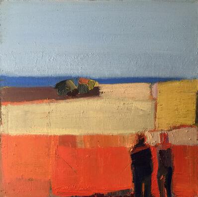 Sandy Ostrau, 'Meadow at Sea', 2018