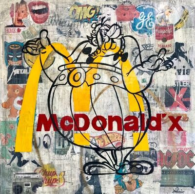 Rock Therrien, 'McDonald'x', 2019