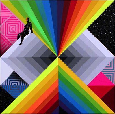 Okuda San Miguel, 'Impossible Perspectives 2', 2015