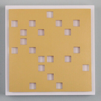 Tracey Meyer, 'What Shapes Us - 7, egg yolk yellow, with seamless apertures and wonderful shadows', 2020