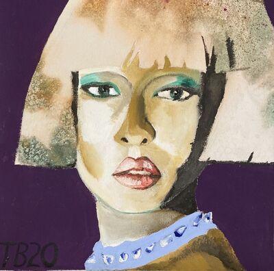 Theodore Buyer, 'Portrait Of Naomi Wearing A Dog Collar', 2020