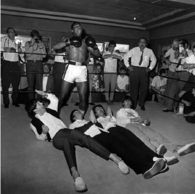 Harry Benson, 'Ali and Beatles, Miami', 1964