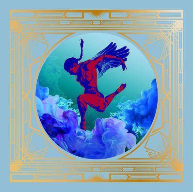 Billy Ma, 'Cloud Dance - Blue', 2016