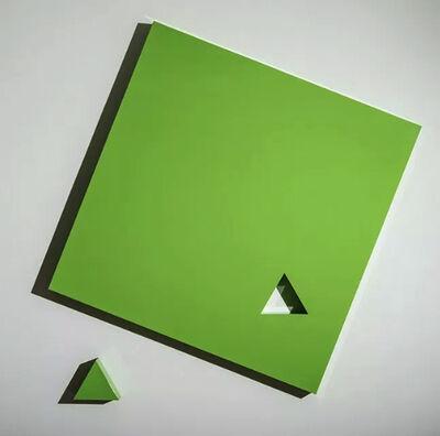 Lori Cozen-Geller, 'Piece, Lamborghini Green', 2019
