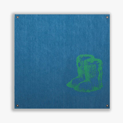 Sylvie Fleury, 'Chanel Yeti Boots (Green Edition)', 2019