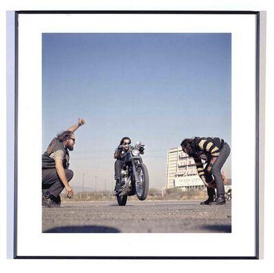 Hunter S. Thompson, 'Hell's Angels, Wheelie, California', 1966