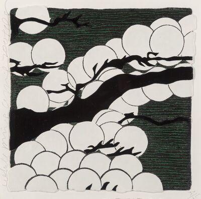 Donald Sultan, 'White Pines', 2009