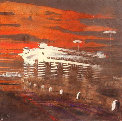 Alessandro Busci, 'San Siro nebbia', 2003