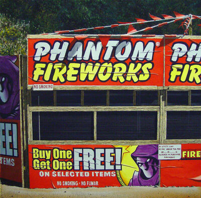James Torlakson, 'Phantom Fireworks', 2015
