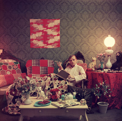 Slim Aarons, 'Truman Capote in His Brooklyn Heights Apartment', 1958