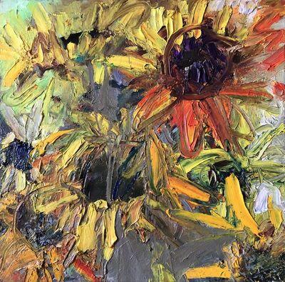 Elena Balsiukaitė-Brazdžiūnienė, 'Sunflowers', 2018