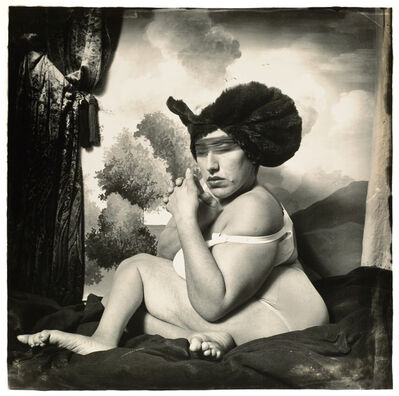 Joel-Peter Witkin, 'Woman in the Blue Hat, New York', 1985