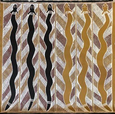 Anita Ganbuganbu, 'Mangrove Snakes', 1995