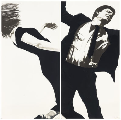 Robert Longo, 'Men in Cities (Joanna and Larry)', 1983