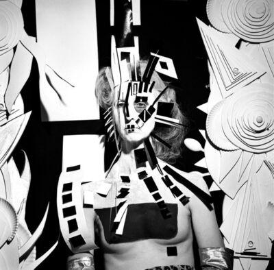 Steven Arnold, 'Untitled (Cubist Mask) ', 1985