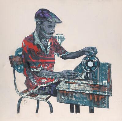 Mandla (Mandlenkosi) Mavengere, 'George & his Machine | Lines of Occupational Identity. ', 2021