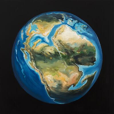 Sarah Olson, 'EARTHTIME: Earth 173 mya, #2 Jurassic period of the Mesozoic era', 2019