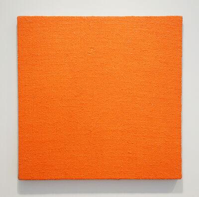 John Nixon, 'Orange Monochrome - Briar Hill', 2002