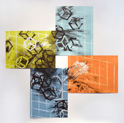 Mel Bochner, 'The forth quartet', 1990