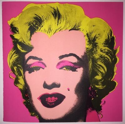 Andy Warhol, 'Andy Warhol, Marilyn Monroe Printed Invitation to the Leo Castelli Gallery, 1981', 1981