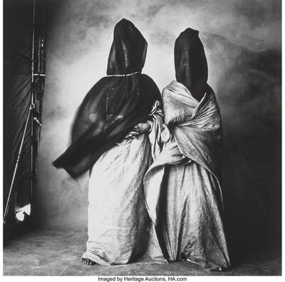 Irving Penn, 'Guedras in the Wind, Morocco', 1971