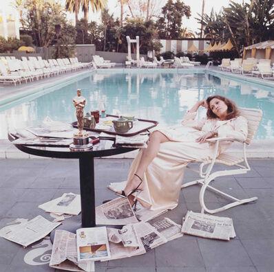 Terry O'Neill, 'Faye Dunaway, Hollywood, 1977'