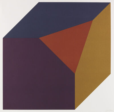 Sol LeWitt, 'Forms derived from a Cube', 1991