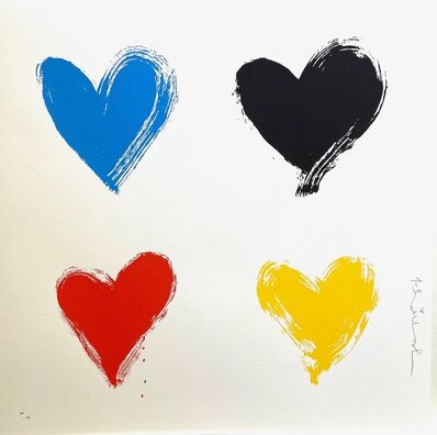 Mr. Brainwash, 'All you need is He(Art) - Four/Small', 2021