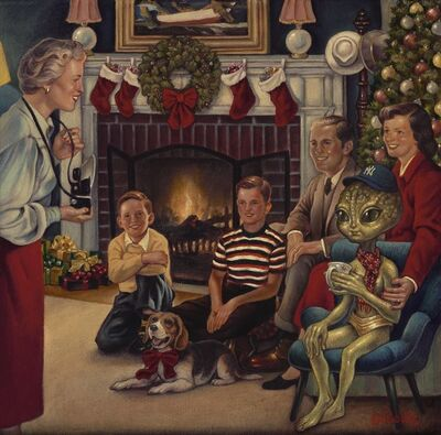 Danny Galieote, 'A Roswell Christmas', 2020