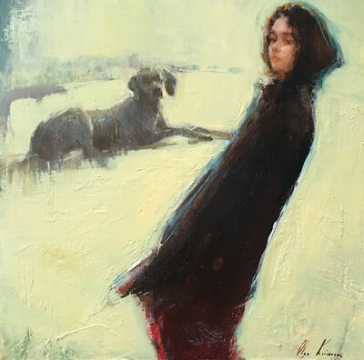 Olga Krimon, 'The Girl and The Dog', 2019