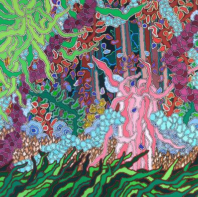 Carol Brown Goldberg, 'Garden Behind the White Picket Fence', 2015