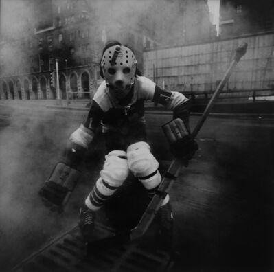 Arthur Tress, 'Hockey Player, New York City', 1971