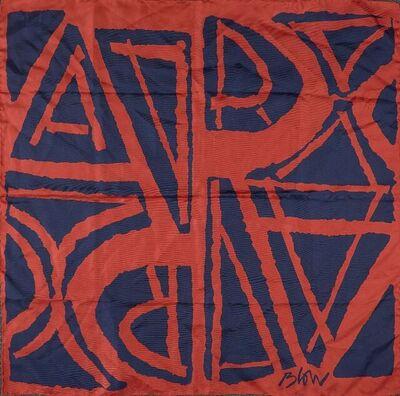 Sandra Blow, 'Royal Academy Silk Scarf'