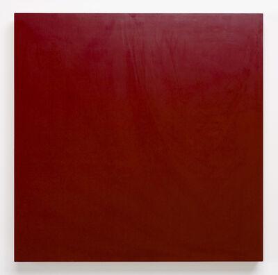 Marcia Hafif, 'New York Colors: Maroon', 1993