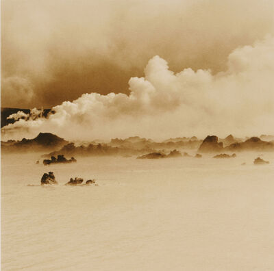 Rena Bass Forman, 'Iceland #5, Blue Lagoon Smoke', 2001