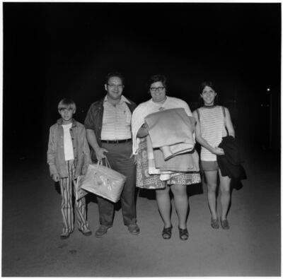 Henry Horenstein, 'The Reynolds Family, Thompson Speedway, Thompson, CT', 1972