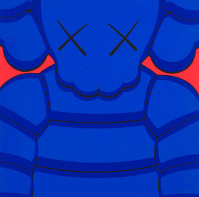 KAWS, 'What Party (Blue)', 2020