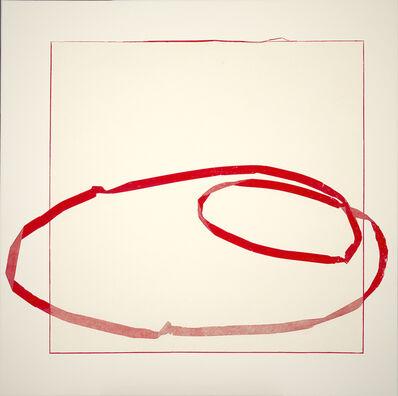Jill Baroff, 'Floating Line Drawing: Red Orbit', 2011