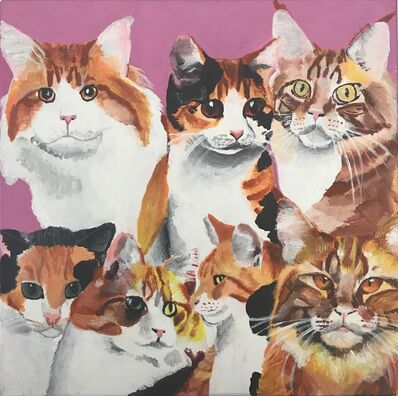 Myasia Dowdell, 'Crowd of Cats', 2018