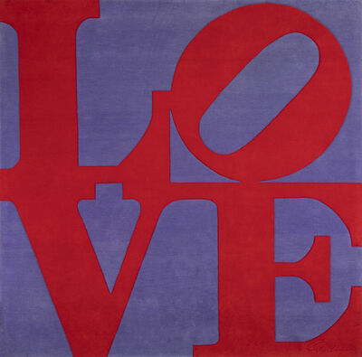 Robert Indiana, 'Chosen Love ', 1995
