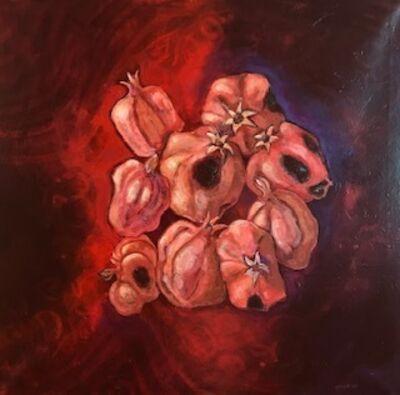 Laila Shawa, 'Rotting Pomegranates', 2011