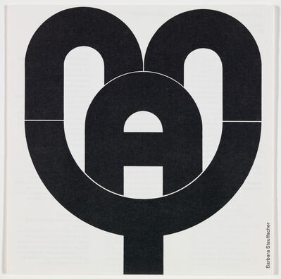 Barbara Stauffacher Solomon, 'San Francisco Museum of Art program guide, May 1970', 1970