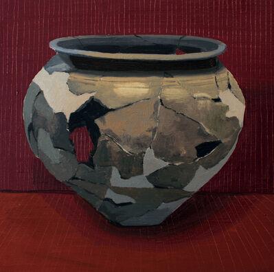 Gloria Martín Montaño, 'Cerámica pintada VI', 2016