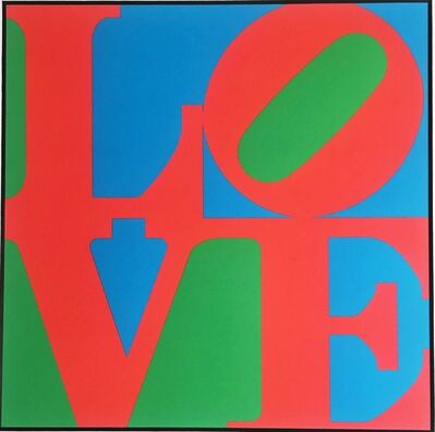Robert Indiana, 'LOVE for Art Basel 1987', 1987