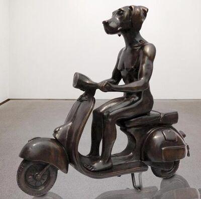 Gillie and Marc Schattner, 'Dogman Ride to Meet Rabbitgirl'