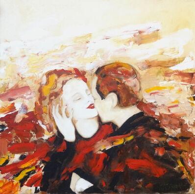 Rita Kashap, 'Der Kuss - Roter Wein', 2007