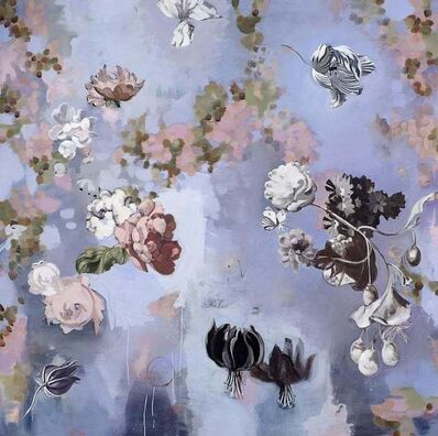 Stephanie Peek, 'Til Paradise II/ floating flowers 72 X 72', 2011