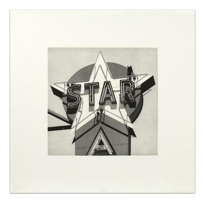 Robert Cottingham, 'STAR', 1977, printed 1978, published 1980